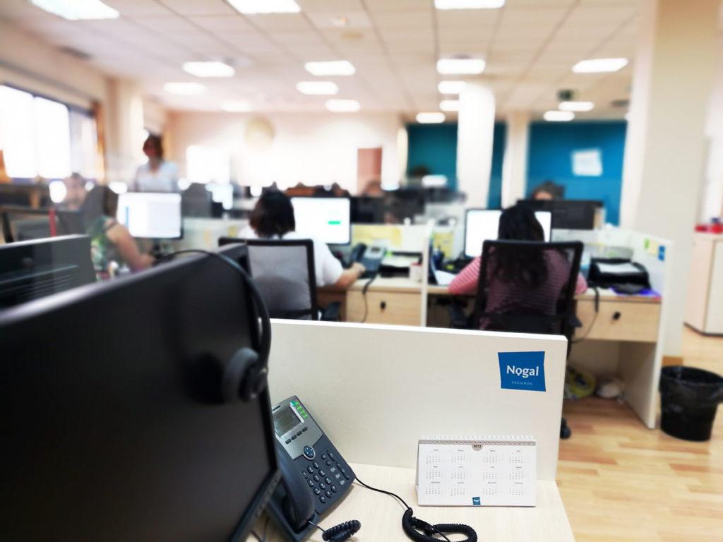 Nuestras oficinas modernas y funcionales seguros nogal for Oficina trafico alcorcon